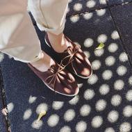 跟圓頭鞋一樣舒適的尖頭婚鞋